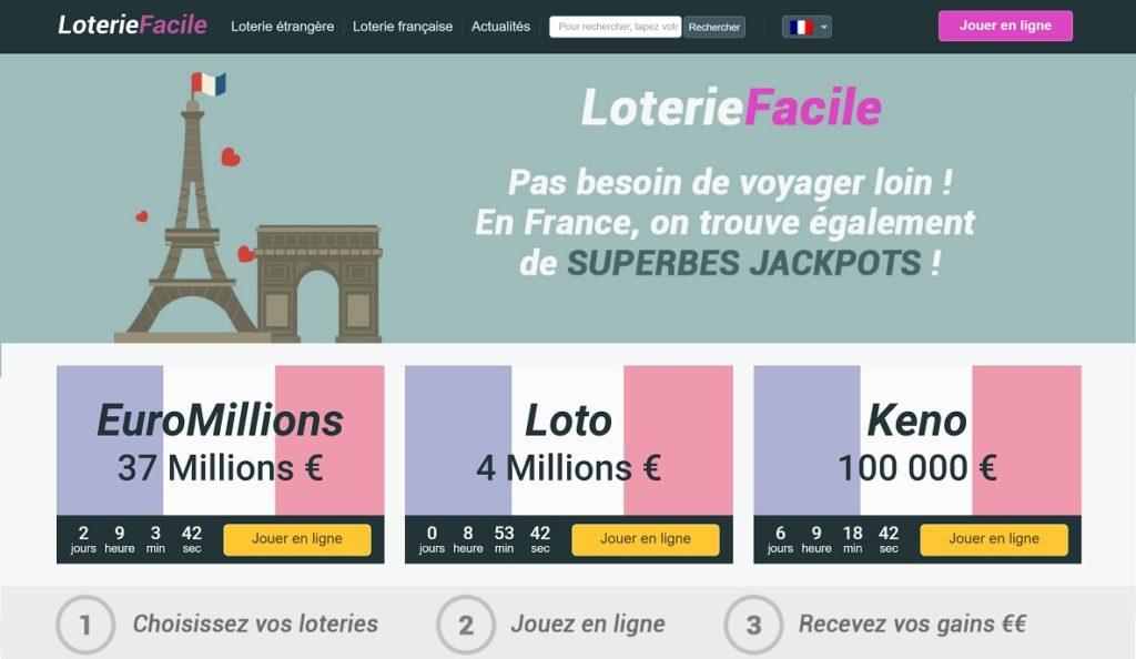 Loterie Facile : les loteries françaises